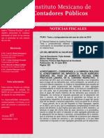 Tesis y Jurisprodencias de Julio 2010 (IMPC Noticias Fiscales #87)
