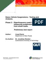 Suspension Tester Report Preliminary Mk VI