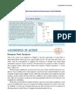 1.3. Microeconomics – Markets Interventions-Food Subsidies