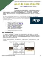 s y experiencias con pic, adquisición de datos con pic, curso de microcontroladores pic, microcontroladores pic, todo sobre pics, conversores ad, electronica pratica, articulos pic, quemador de pics, pics, programar .pdf