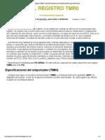 Registro TMR0, ModuloTimer0,Micros,Ensamblador,Proyectos Pic,Proyectos Pic