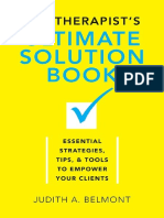 The Therapist's Ultimate Solution Book - Essential Strategies, Tips & Tools to Empower Your Clients