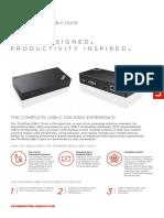 ThinkPad Basic Dock USB Type C Brochure