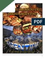 El libro sagrado del asado ARgentino