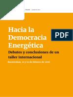 Hacia La Democracia Energetica