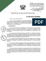 RAD 043-2010-APN-DIR Disposiciones Para El Abastecimiento de Combustible