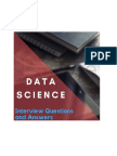 Data Science Interview Questions and Answer