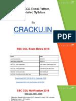 Ssc Cgl Syllabus 2018 PDF