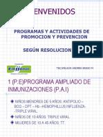 Programas y Actividades de Pyp Ok