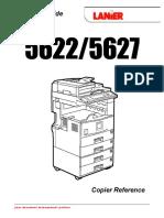 Lanier 2522 2527 2212 2712 5622 5627 Operator Guide