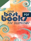 Hudson Best Books for Summer 2018