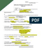 pf guideline