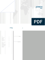 POSCO Brochure(플랜트소개용)