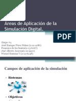 Áreas de Aplicación de La Simulación Digital