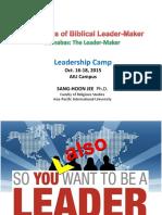 five marks of biblical leader-maker
