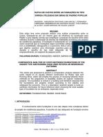 (Grupo 6) Part 2. Artigo - Análise Comparativa de Custos Entre as Fundações Do Tipo Radier e Sapata Corrida. (8 Pag)