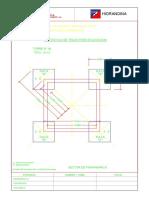 Protocolo de trazo de cimentación de alta tensión