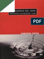 Shiva Vandana - Las Guerras Del Agua - Privatizacion Contaminacion Y Lucro.pdf