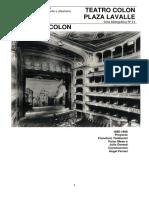 Teatro Colon y Plaza Lavalle