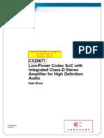 CX20671-CONEXANT