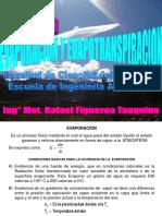 4.-EVAPORACION - EVAPOTRANSPIRACIÓN.ppt
