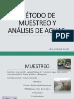MÉTODO DE MUESTREO Y ANÁLISIS DE AGUAS.ppt