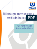 Manual Certificado Defunción