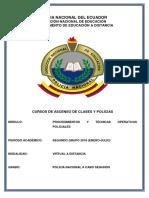 1. Módulo de Procedimiento y Técnicas Operativas Policiales POL.