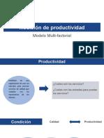 Modelo de medición de Productividad