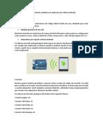 Comunicación Arduino
