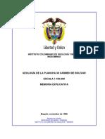 Memoria Explicativa 38 Carmen de Bolívar 1996 (1)