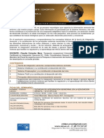 Folleto I. Sensorial 11 Agosto 2018 CONCEPCIÓN