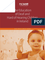 Deaf Education Report
