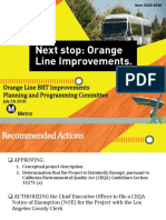 Orange Line Improvements Project Power Point