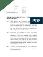 Kelompok 9 (Seksi 280 Objektivitas – Semua Jasa Profesional)