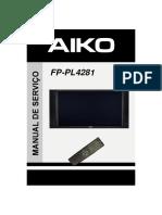 Tv de Plasma - Aiko Fp-pl4281-Manual Serviço