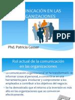 3 Comunicación en Las Organizaciones Patty