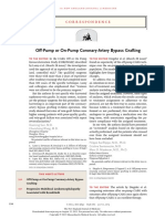 Off-Pump or on-Pump Coronary-Artery Bypass Grafting