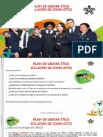Plan de Mejora de Solución de Conflictos SENA Evidencia 5.4 Logistica