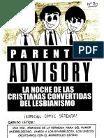 70. Parental Advisory. La Noche de Las Cristianas Convertidas Del Lesbianismo
