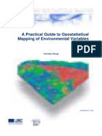 A Practical Guide to Geostatistical Mapping of Environmental Variables