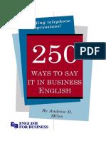 250 ways to say it.pdf