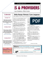 Payers & Providers – Issue of September 30, 2010