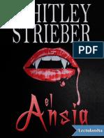 El Ansia - Whitley Strieber