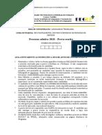 Caderno de Questoes Processo 2018