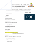El Informe Final de Investigación Cualitativa