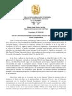 Auto de Convocatoria a Audiencia Oral y Publica en Juicio Contra Nicolas Maduro (SP-2018-001)