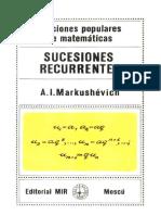 Markushevich Sucesiones Recurrentes.pdf