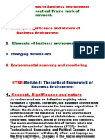 Emerging Trends in Business Environment Mod 1