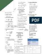 Formula Sheet Edited Sec E and F